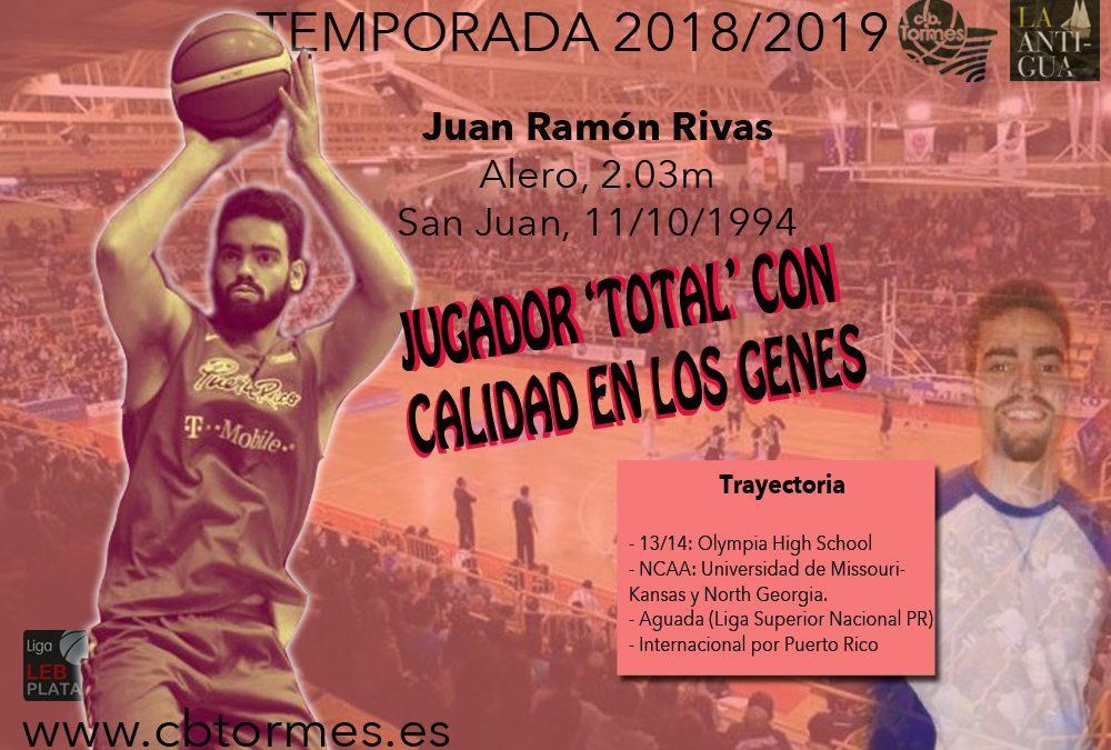 Juan Ramón Rivas, un '3' con físico de '4' y calidad en los genes para La Antigua