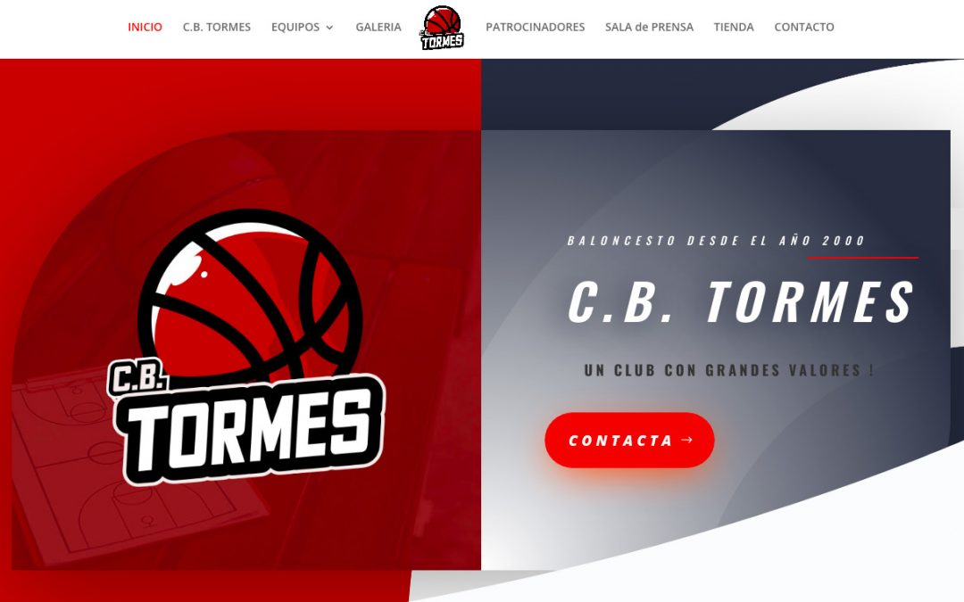 El CB Tormes rediseña su imagen y su página web completa