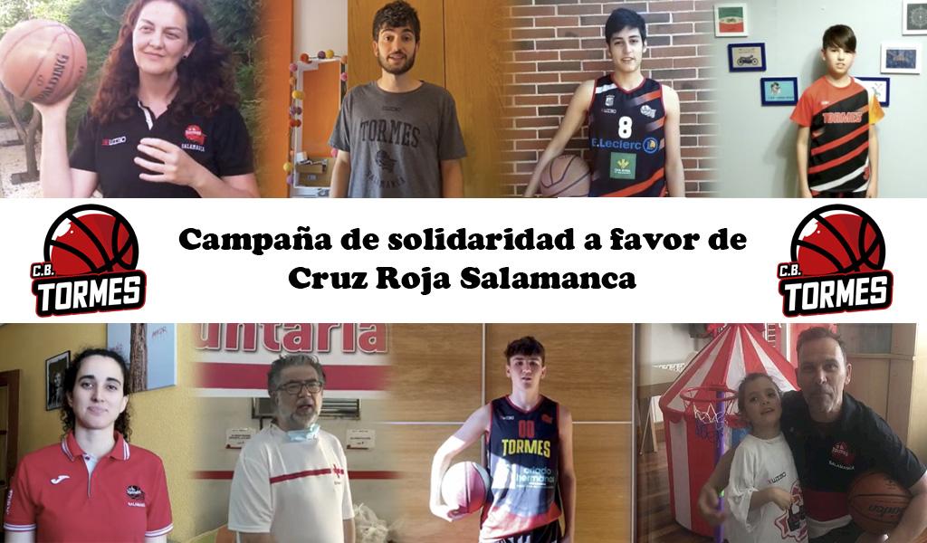 El CB Tormes pone en marcha una campaña de compra de alimentos para Cruz Roja Salamanca