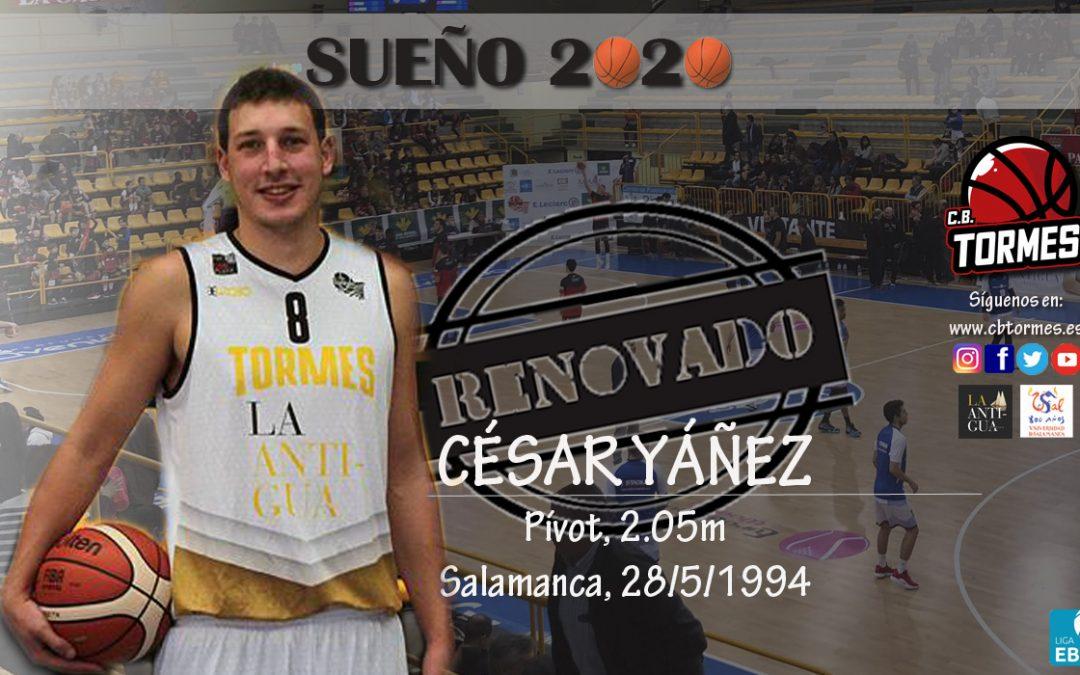 César Yáñez, un seguro salmantino bajo el aro de Usal La Antigua