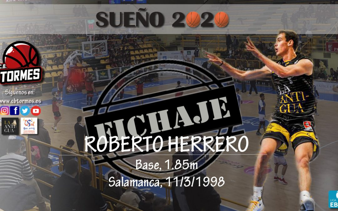 Usal La Antigua recupera una de las últimas 'perlas' de su cantera, el base Roberto Herrero