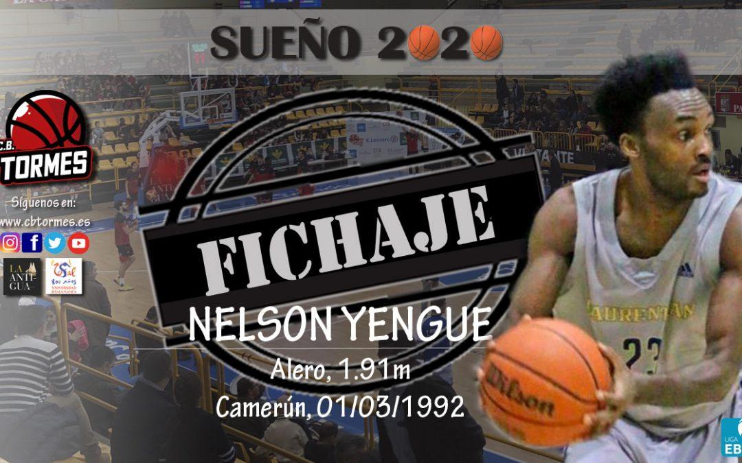 Liderazgo y calidad para Usal La Antigua  gracias al fichaje de Nelson Yengue